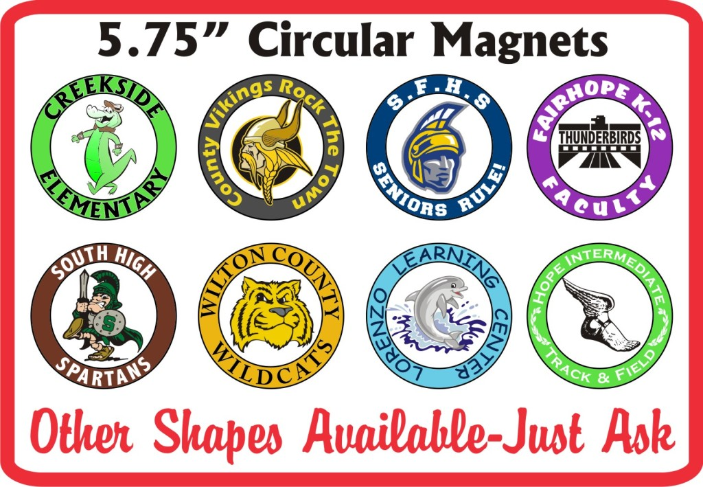 Car Magnets School Labels 877 522 3565