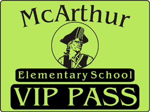 Sample Visitor Pass